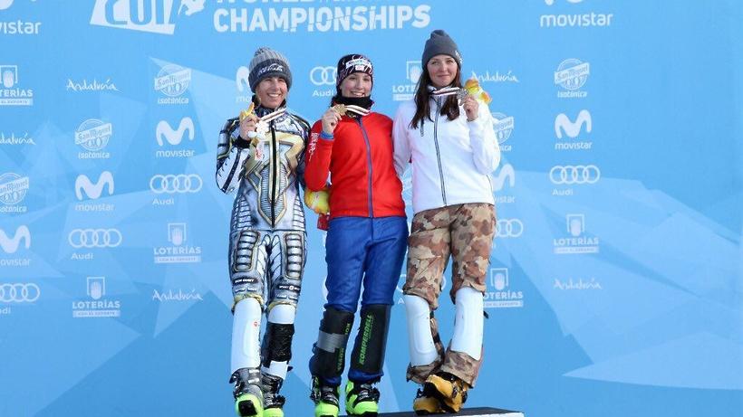 Новосибирская сноубордистка завоевала «бронзу» начемпионате мира вопасном заезде