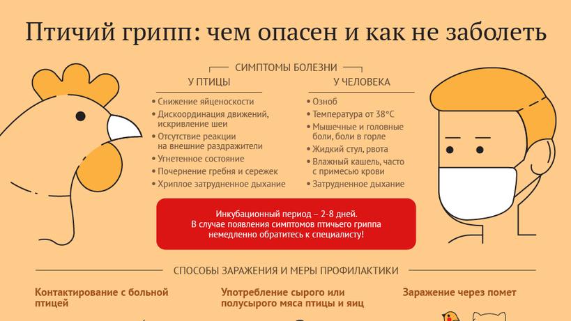 птичий грипп профилактика