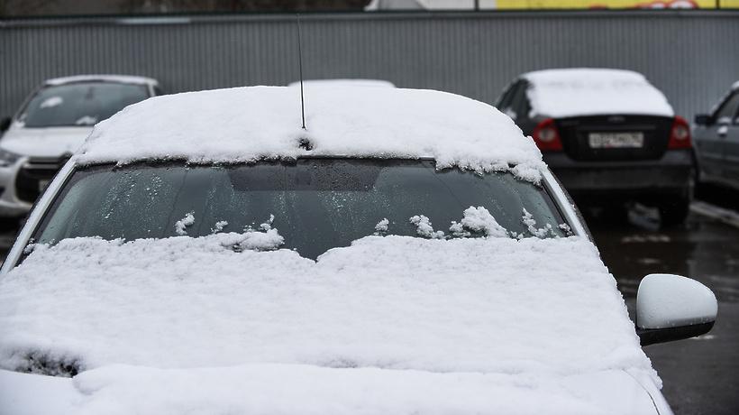 До 2 сантиметров снега выпало местами в Подмосковье–Общество–РИАМО