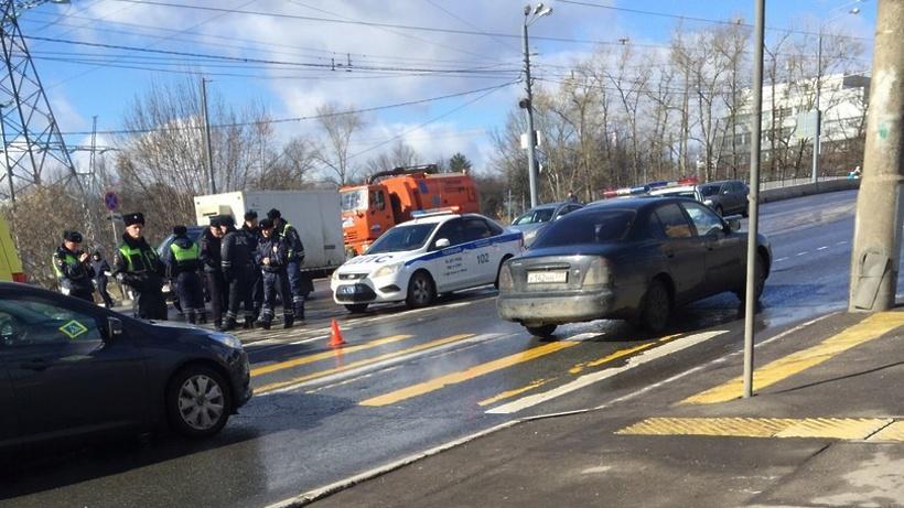 Работник ДПС сбил пешехода в столице