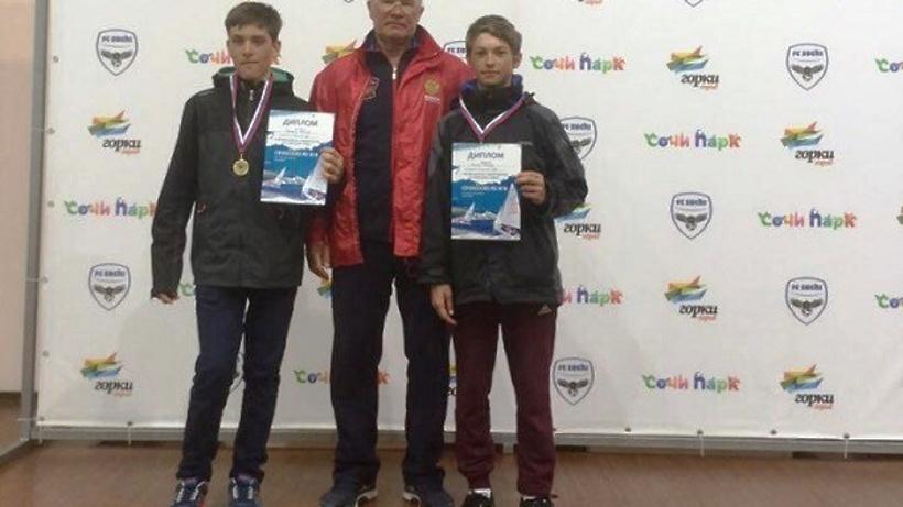 Подмосковные спортсмены завоевали золото на«Сочинской регате 2017»