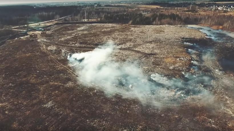 Власти Орехово-Зуевского района признали ситуацию стлеющей свалкой чрезвычайной