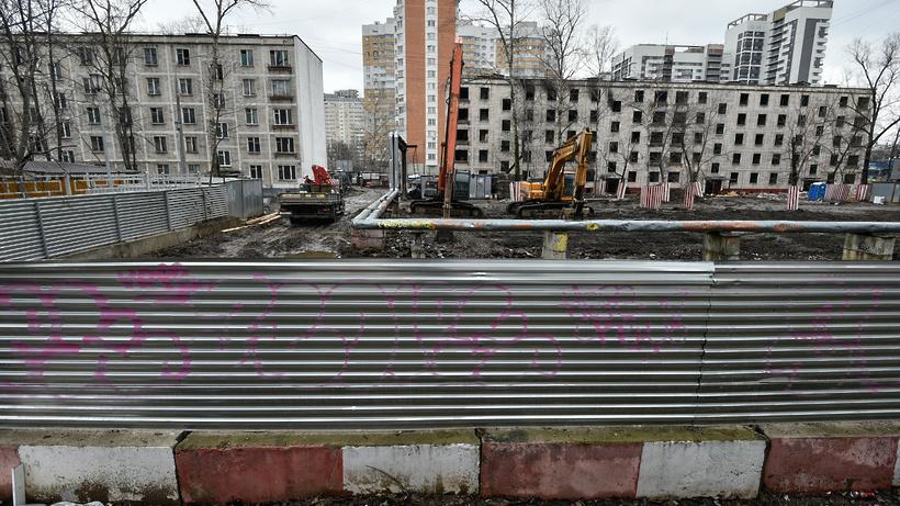 Госдума приняла в первом чтении проект закона о реновации жилья в Москве