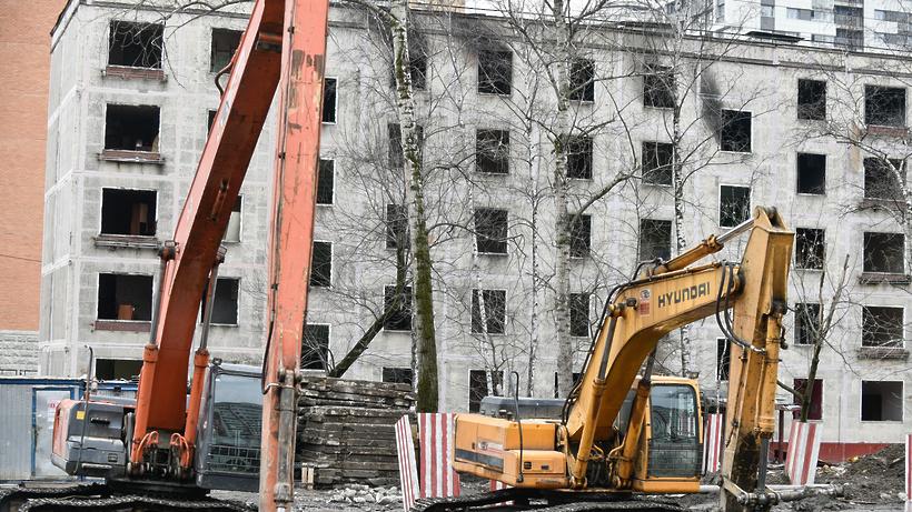 Натекущий момент встолице снесено порядка 1,7 тыс. ветхих пятиэтажек