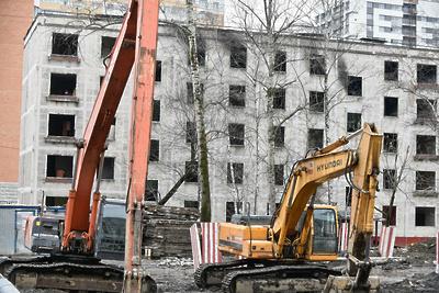 Объем строительного мусора от сноса зданий по реновации может составить 30 млн т в Москве
