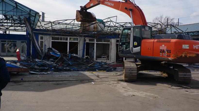В российской столице зачетыре года снесено около 4 тыс. самостроев