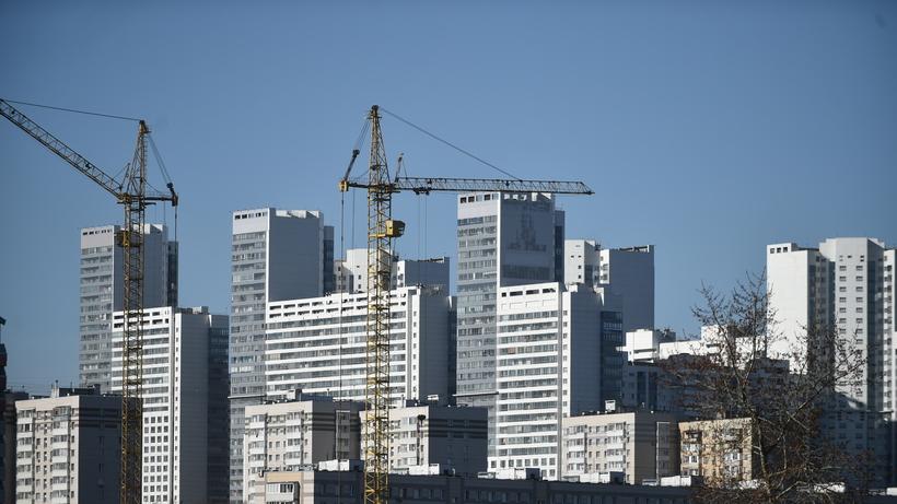 В Москве построят почти 900 тысяч кв м жилья за счет бюджета в 2018 году