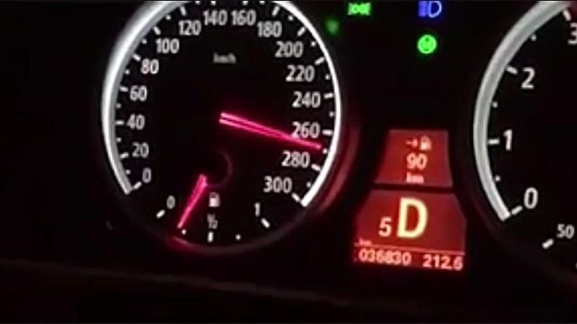 Мажоры устроили гонки наскорости 270 км/ч поподмосковной трассе