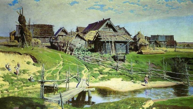Москвич похитил узнакомой три картины русских живописцев XIX века