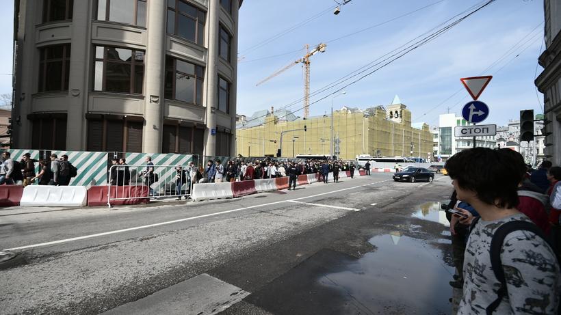 Несанкционированная акция «Открытой России» в столицеРФ заинтересовала только корреспондентов