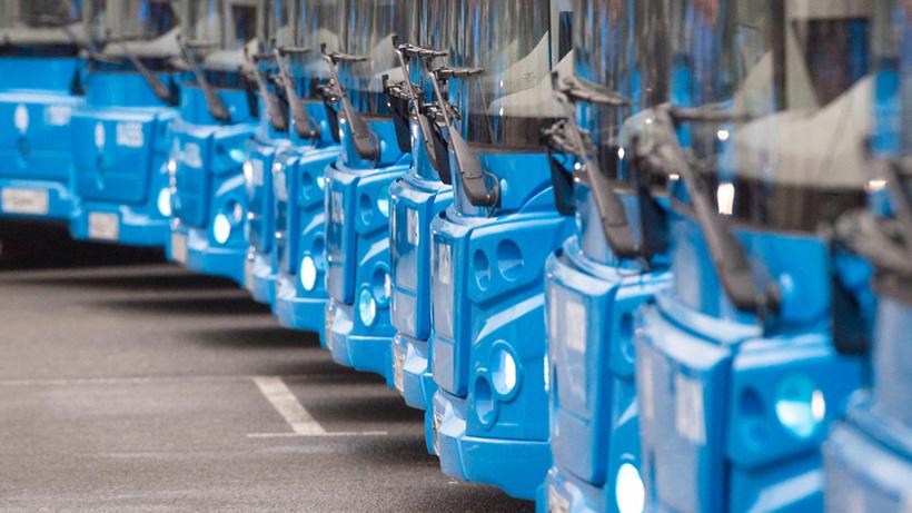 Наземный городской транспорт столицы подготовлен клетнему сезону