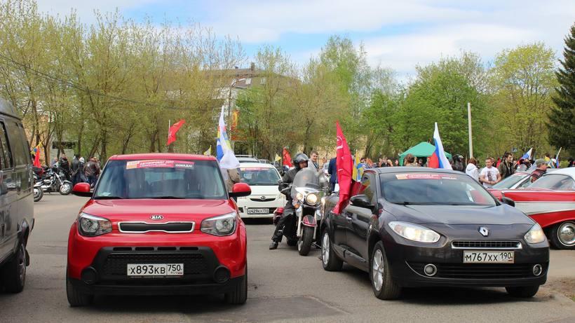 gallery!q0p - Автопробег по трем маршрутам провели в Коломенском районе в честь Дня Победы