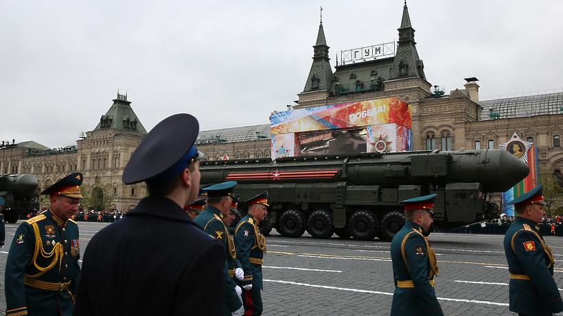 Росгвардия заменит МЧС наКрасной площади вДень Победы