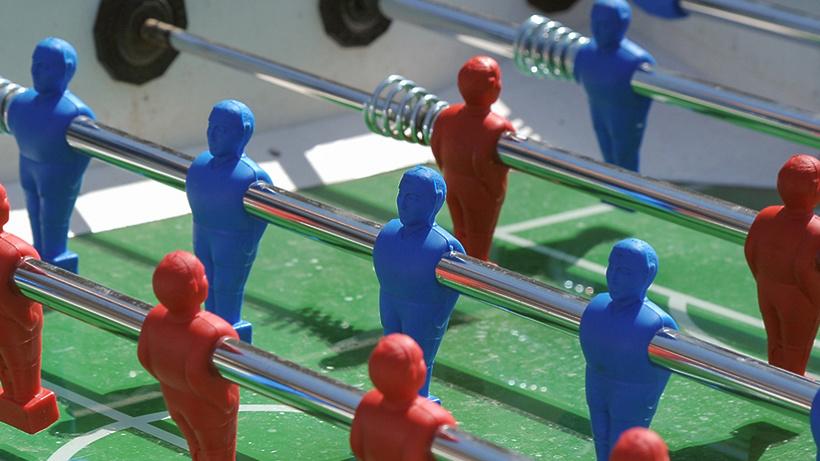 Столы для настольного футбола появятся вМосковском метро