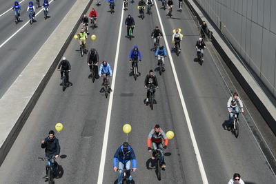 Первый весенний велофестиваль пройдет в Москве в воскресенье