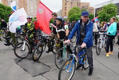 Более 250 человек приняли участие в велопробеге в Подольске