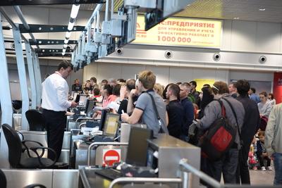 Около 30 рейсов задержано и отменено в московских аэропортах