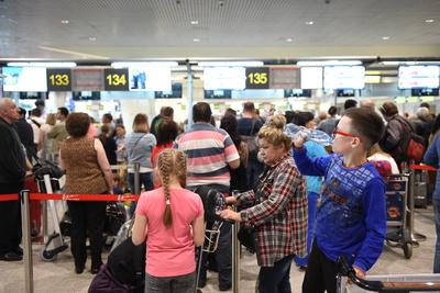 Число отмененных и задержанных рейсов в аэропортах Москвы увеличилось до 31