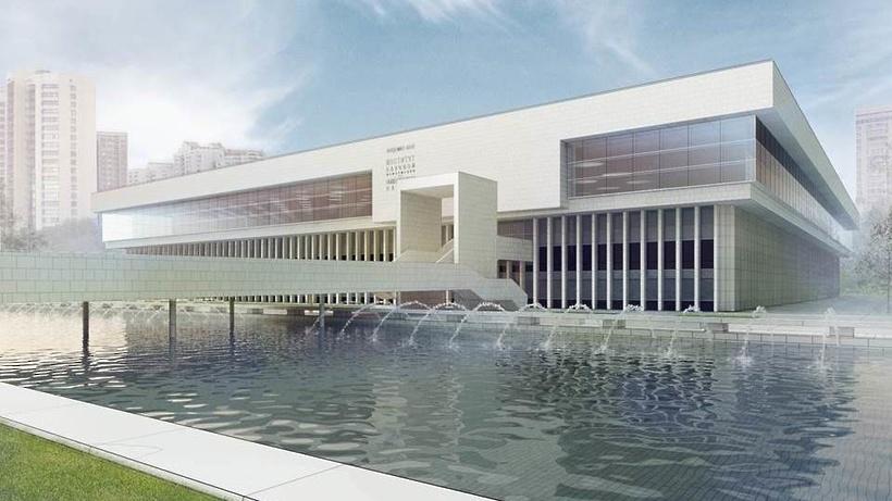 Москомархитектура согласовала проект восстановления сгоревшей библиотеки ИНИОН