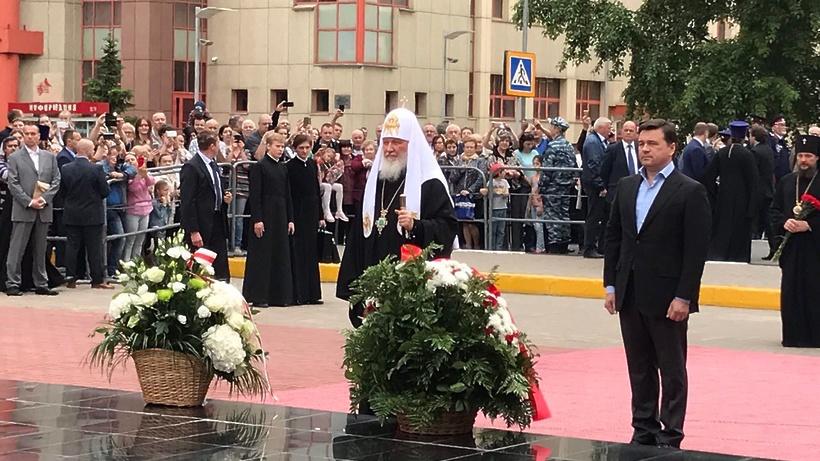 Патриарх Кирилл отслужил Божественную литургию вТроицком монастыре Реутова