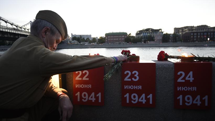 ВБавлах зажгли сотни свечей впамять опогибших навойне