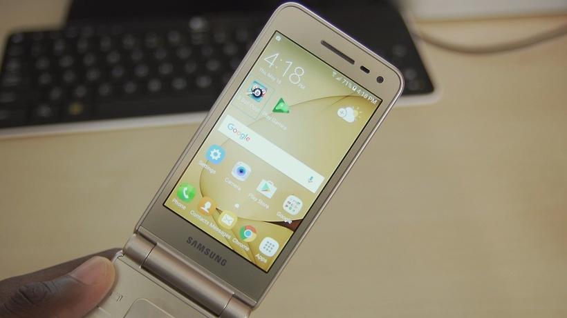 Нанеделе Самсунг выпустит новый смартфон-раскладушку