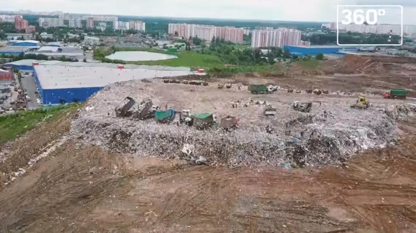 Пути перераспределения отходов, которые шли на полигон «Кучино», прорабатывают в Подмосковье
