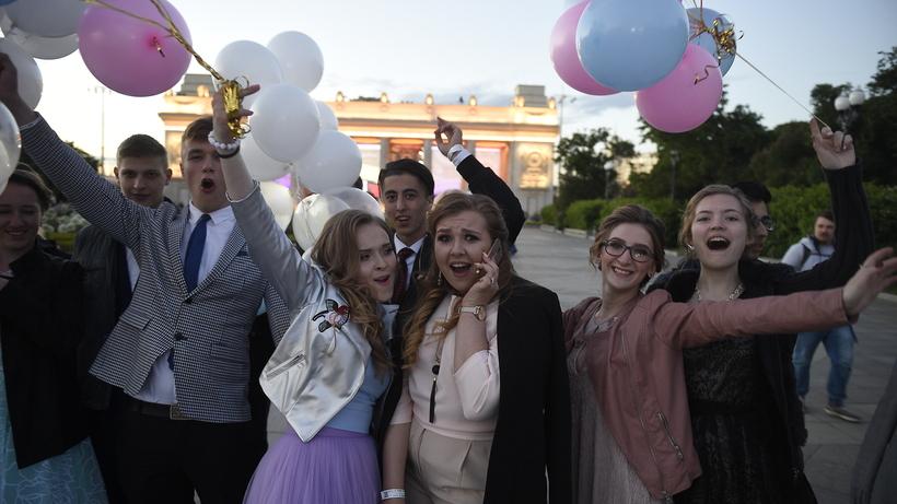 В предстоящем году выпускные вечера в столице России пройдут 23июня