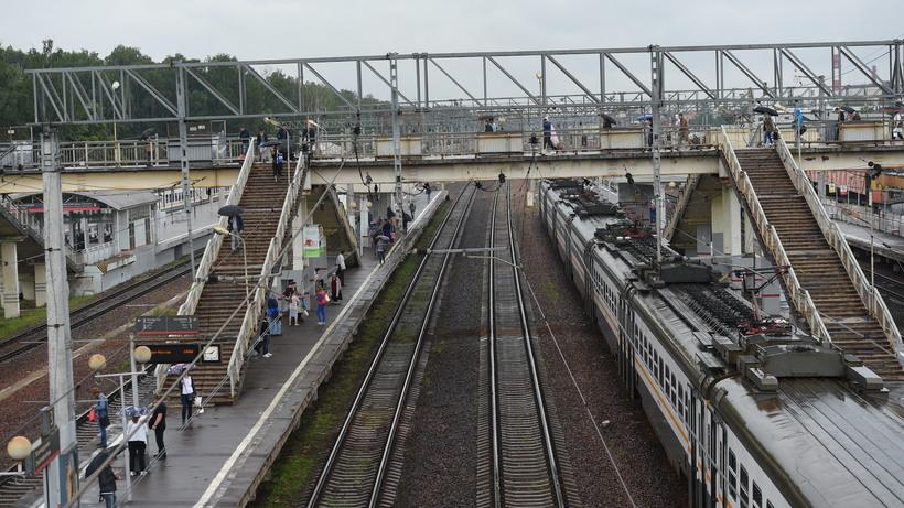 Движение пригородных поездов наБелорусском направлении в столице России восстановлено