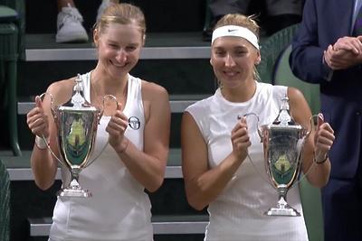 Российские теннисистки выиграли Уимблдонский турнир в парном разряде List%210opg
