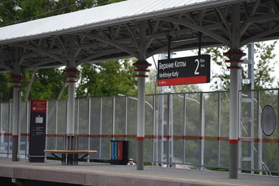 Пассажиропоток станции «Верхние Котлы» МЦК вырос на 20% с февраля