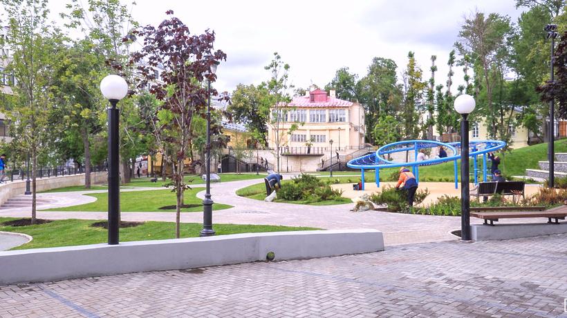 Вжилых районах столицы появятся 50 новых парков