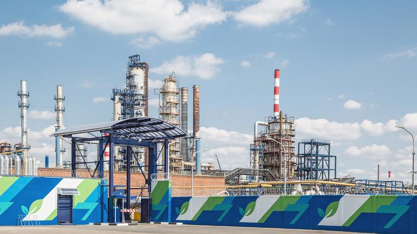 Завершено строительство биологических очистных сооружений «Биосфера» наМосковском НПЗ
