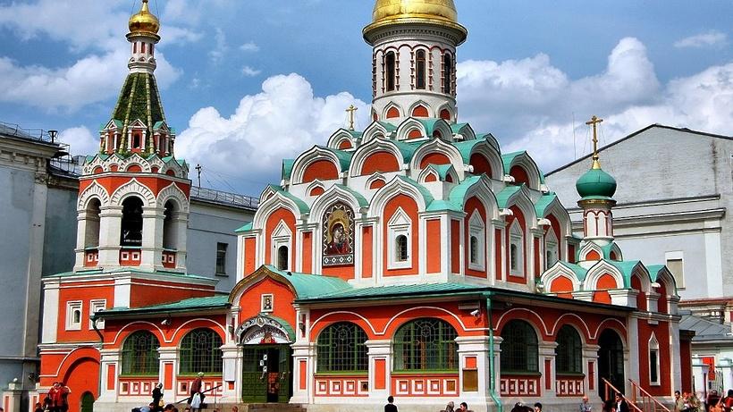 Храм  Казанской иконы Божией Матери наКрасной площади ожидает  реставрация