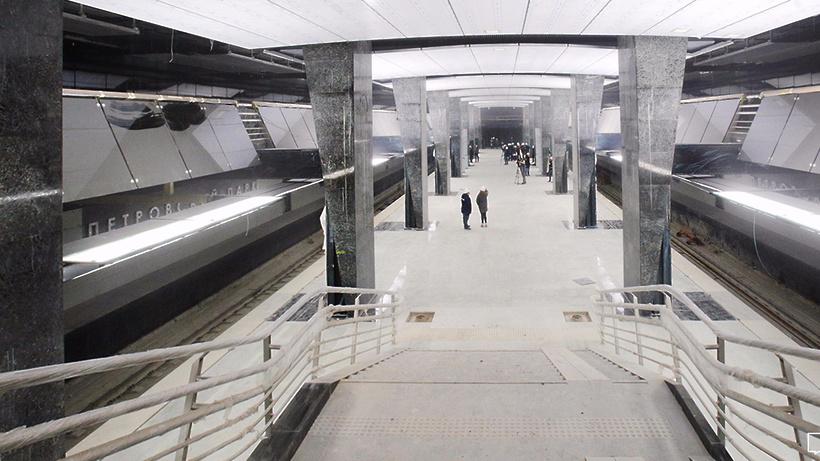 1-ый участок 3-го пересадочного контура метро могут открыть для пассажиров осенью