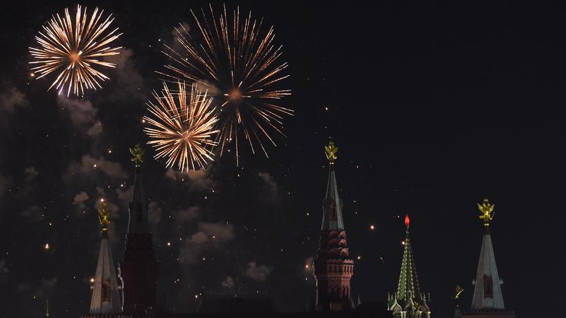 В столице России вновогоднюю ночь запустят салют с38 точек