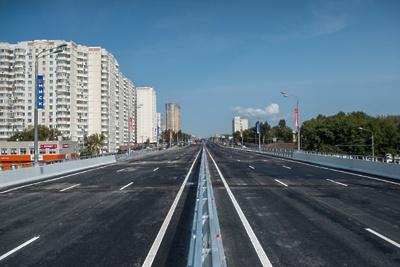 Строительство почти 130 км дорог завершили в Москве в 2018 году