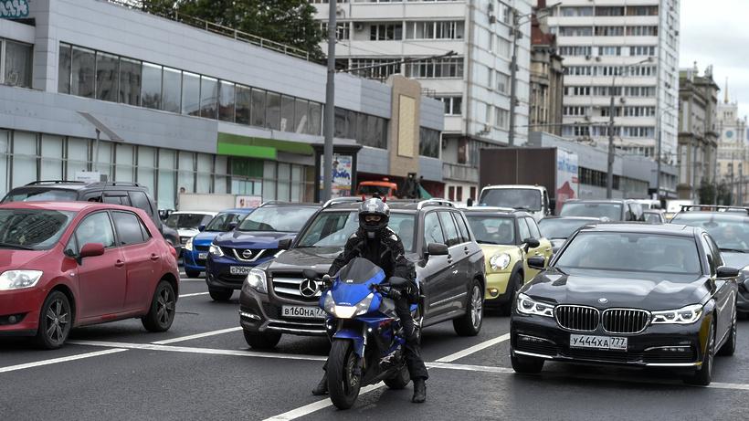 В столицеРФ надва дня перекроют несколько улиц для автомобилистов