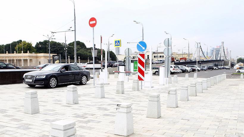 Парк «Музеон» увеличил парковку до 345 мест