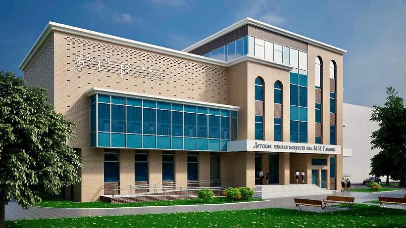 Утвержден проект здания для детской школы искусств имени Глинки