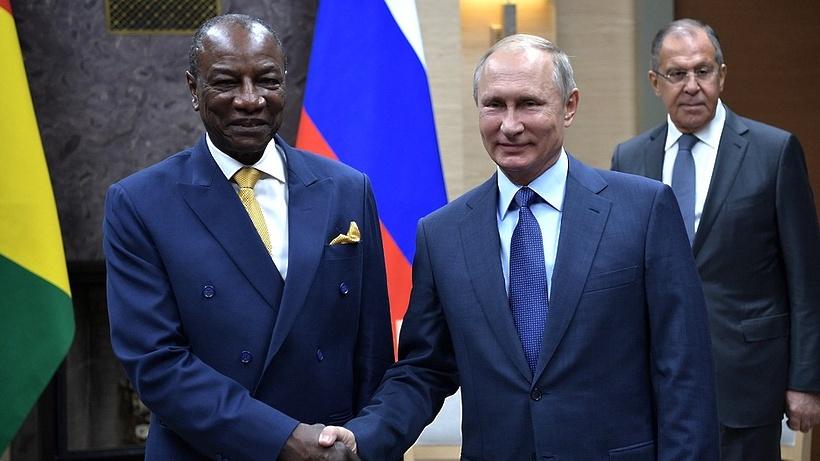 Президент Гвинеи предложилРФ перейти кстратегическому партнерству