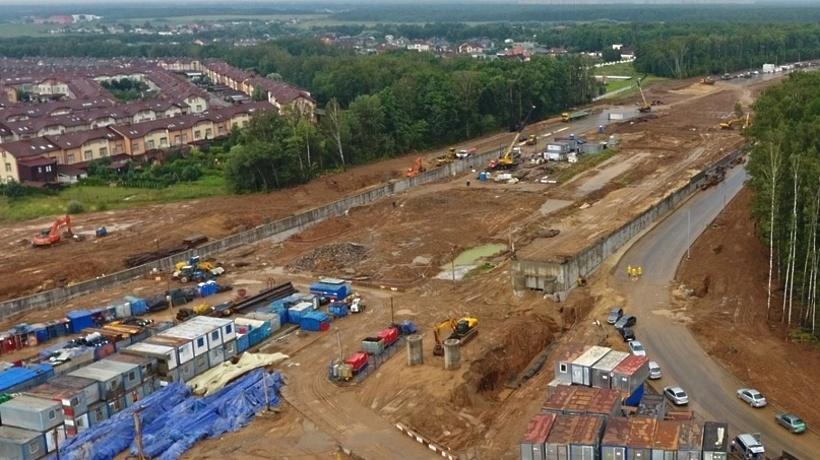 2-ой отрезок дороги Солнцево-Видное начнут строить впервом месяце зимы