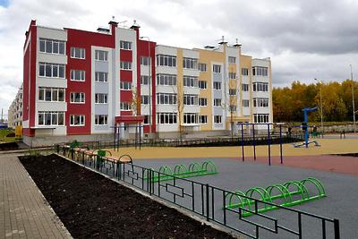 Пять новых жилых домов построили вблизи деревни Черная в Истре