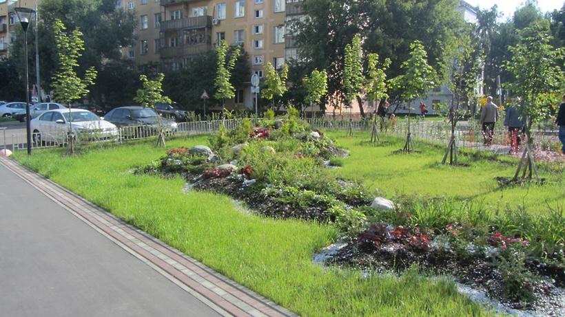 Озеленение столичных дворов началось попросьбам жителей столицы