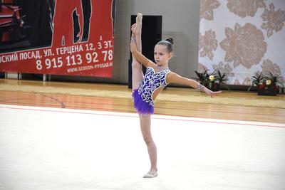 Открытый турнир по художественной гимнастике «Плат узорный» стартовал в Павловском Посаде
