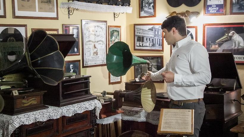 Музей патефонов открылся в Коломне