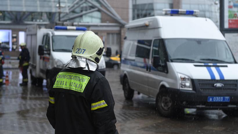 Мужчина сгранатами схвачен натерритории Киевского вокзала