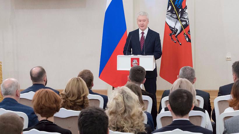 Собянин сказал оросте зарплат жителей столицы