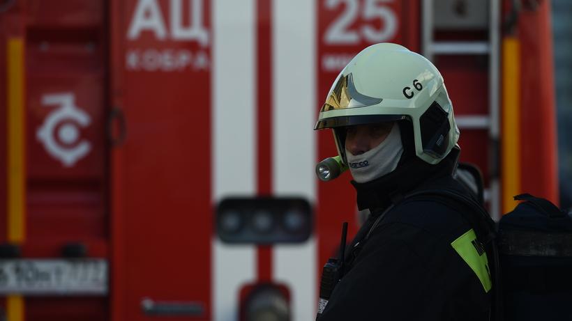 Движение ограничено наМКАД наюге столицы из-за пожара