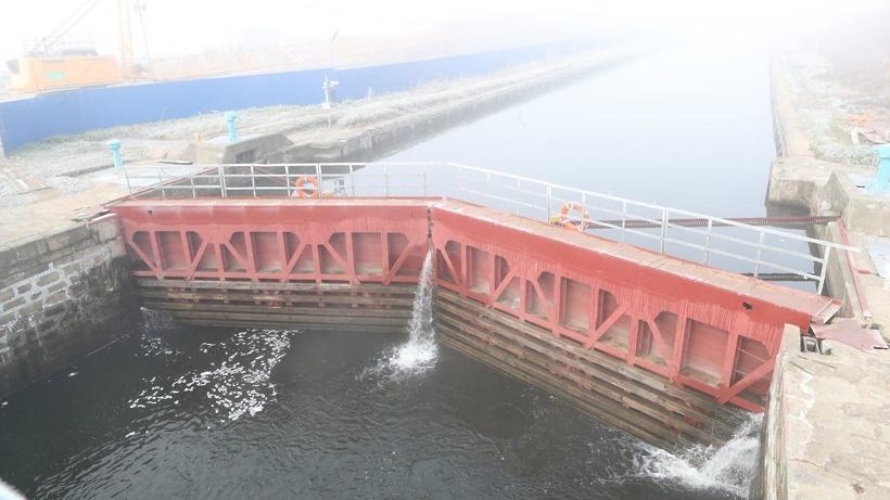 Гидроузел «Белоомут» открыли в Луховицах после реконструкции